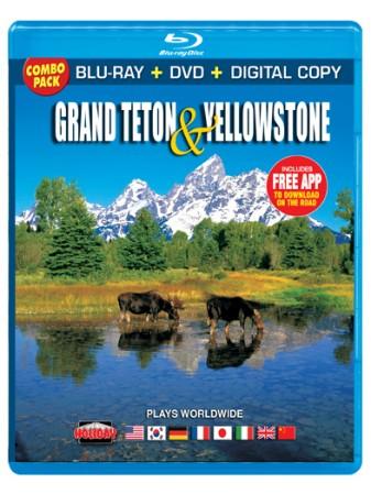 Grand Teton and Yellowstone, Blu-ray/DVD Combo Pack