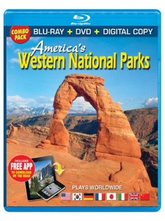 America's Western National Parks Blu-ray Combo Pack