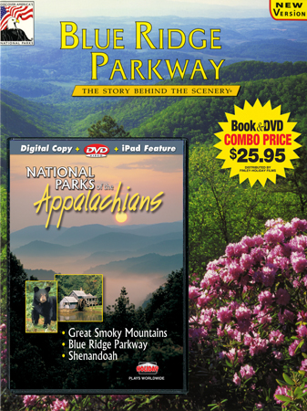 Blue Ridge Parkway-Appalachians Book/DVD Combo