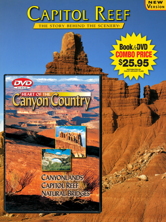 Capitol Reef & Canyon Country Book/ DVD Combo