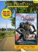 Civil War Parks  & Civil War in Virginia DVD Book/DVD Combo