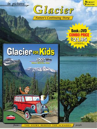 Glacier & Glacier for Kids DVD Book/DVD Combo