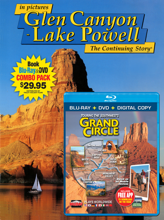 Glen Canyon - Lake Powell IP Book/Grand Circle Blu-ray Comb