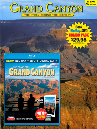 Grand Canyon Book/ Blu-ray Combo