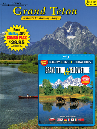 Grand Teton IP Book/ Blu-ray Combo