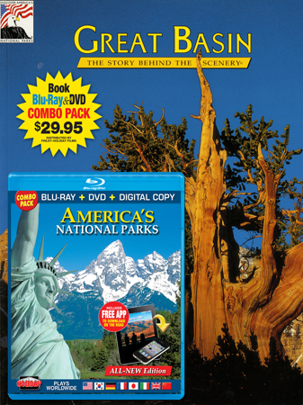 Great Basin Book/ America's National Parks Blu-ray Combo
