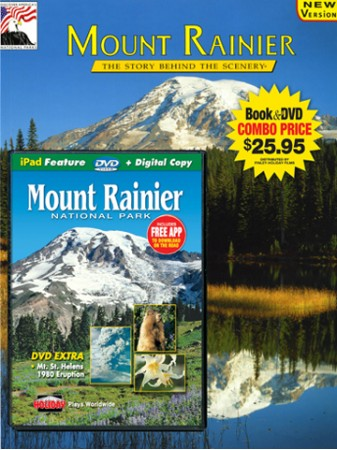 Mount Rainier Book/DVD Combo