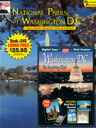National Parks of Washington DC  Book/DVD Combo