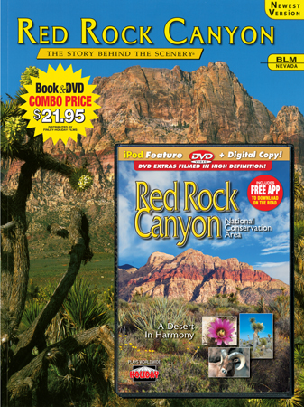 Red Rock Canyon Book/DVD Combo