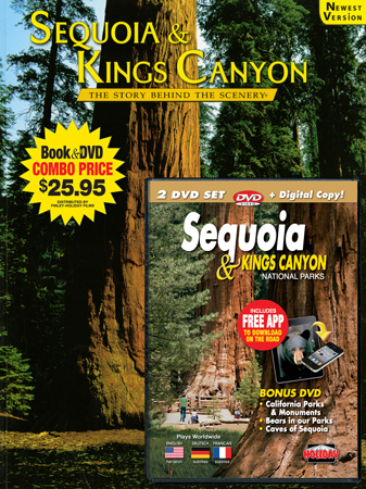 Sequoia and Kings Canyon SBS Book/DVD Combo