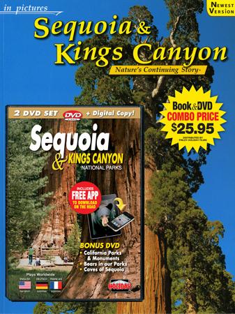 Sequoia & Kings Canyon IP  Book/DVD Combo