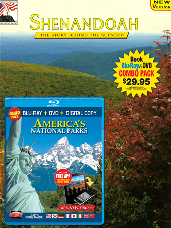 Shenandoah Book/America's National Parks Blu-ray Combo