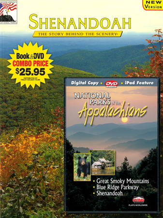 Shenandoah & National Parks of the Appalachians Book/DVD Combo