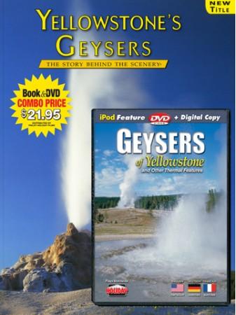 Yellowstone Geysers Book/DVD Combo