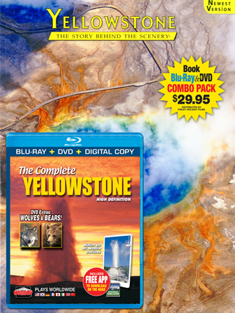 Yellowstone Book/Blu-ray Combo