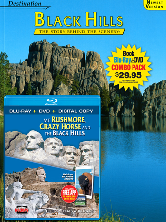 Black Hills Book/ Mt. Rushmore, Crazy Horse & Black Hills Blu-ray Combo