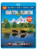 Grand Teton and Yellowstone, Blu-ray/DVD Combo Pack