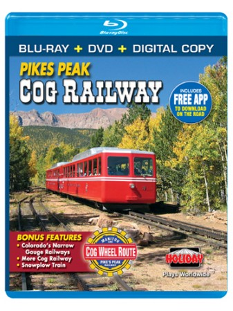Pikes Peak Cog Railway Blu-ray/DVD Combo Pack