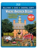 Where America Began: Jamestown, Colonial Williamsburg & Yorktown Blu-ray Combo Pack