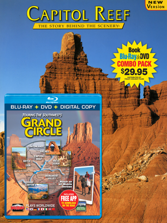 Capitol Reef Book/ Grand Circle Blu-ray Combo