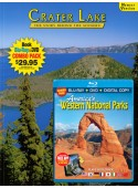 Crater Lake Book/ Western National Parks Blu-ray Combo