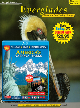 Everglades IP Book/America's National Parks Blu-ray Combo