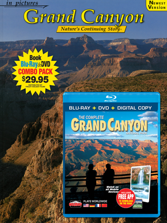 Grand Canyon IP Book/ Blu-ray Combo