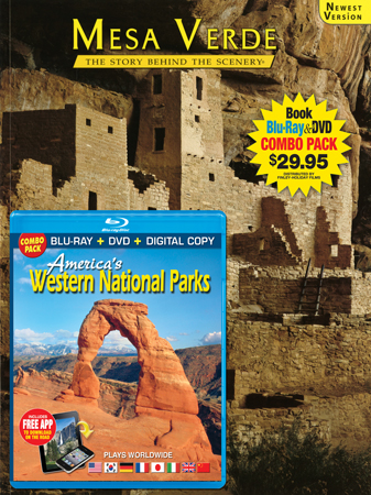Mesa Verde Book/ Western National Parks Blu-ray Combo