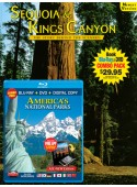 Sequoia & Kings Canyon Book/America's National Parks Blu-ray Combo