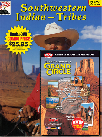 Southwestern Indian Tribes  & Grand Circle DVD Book/DVD Combo