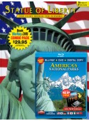 Statue of Liberty Book/America's National Parks Blu-ray Combo