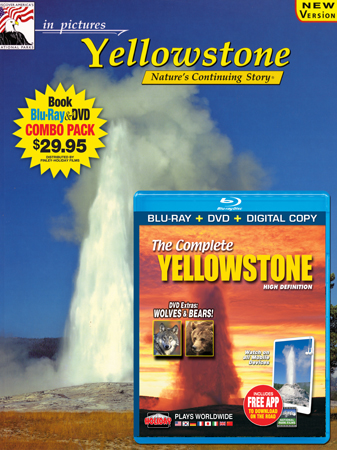 Yellowstone IP Book/ Blu-ray Combo