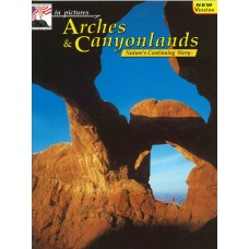 Cover image of national park book featuring Arches and Canyonlands
